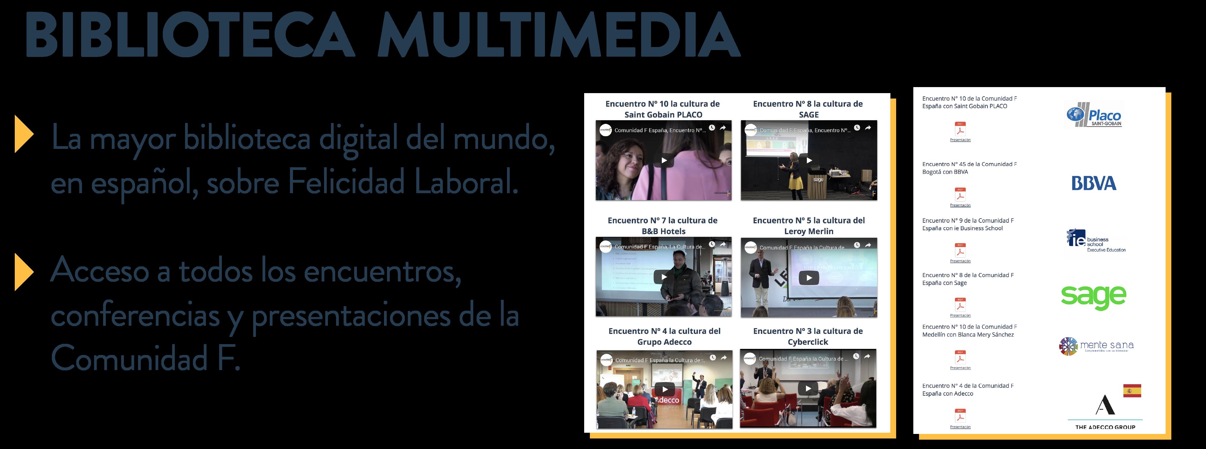 Multimedia comunidad F